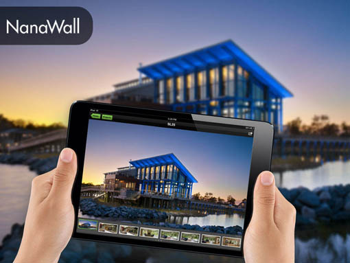 Banner | Mobile app developed by LeewayHertz for NanaWall giving its sales team access to their portfolio and collateral