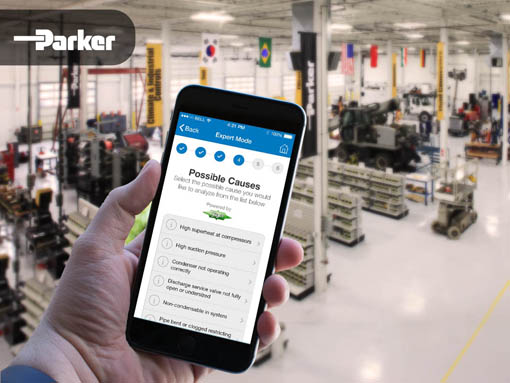 Banner | Mobile app developed by LeewayHertz for Parker enabling engineers to troubleshoot refrigerator issues