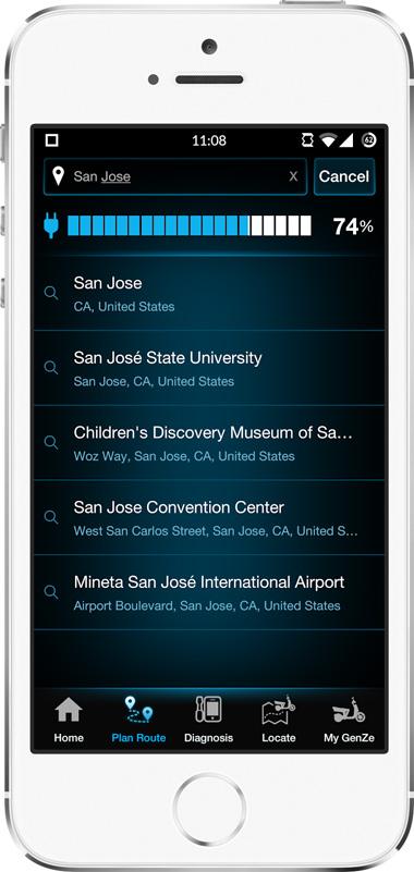 Mahindra GenZe App Screen - 2 | E-Bike Mobile App