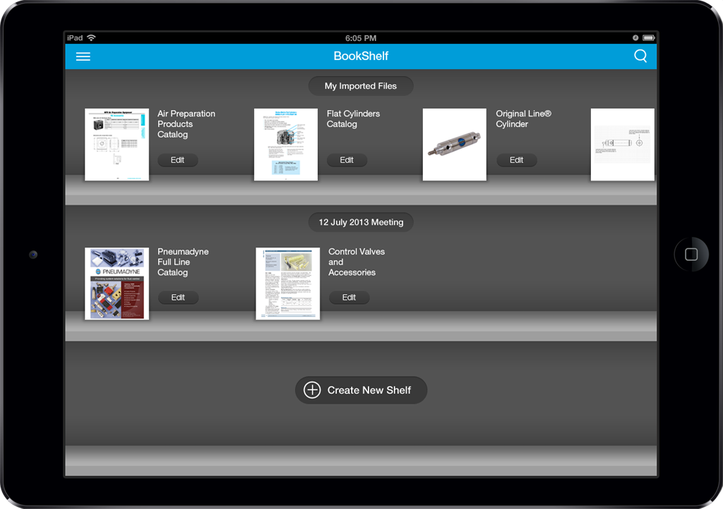 Bimba App Screen - 4 | Sales Enablement Catalog Mobile App