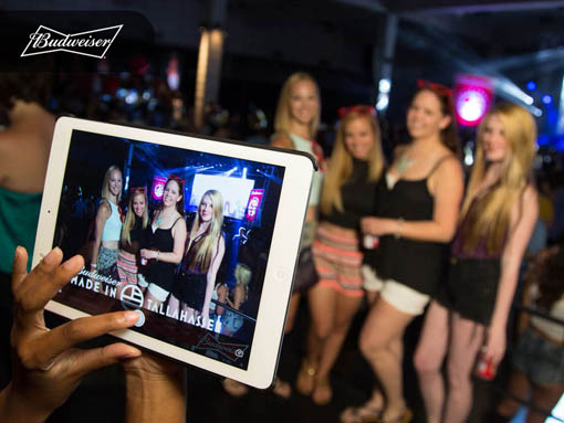 Budweiser | Big Picture Proof | Enabling and Encouraging Social Media Interaction At Events