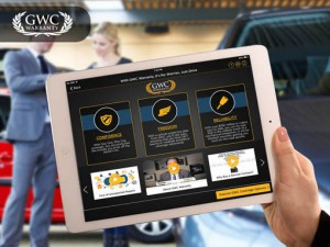 GWC Warranty Title Banner | Customizing Insurance Proposals Mobile App