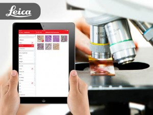 Leica Biosystems Title Banner | Pathology & Diagnostic IHC Content Mobile App