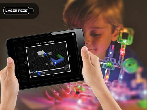 Laser Pegs® | Laser Pegs® 3D Modeling | Creating Interactive 3D Models on iPad