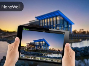 NanaWall Title Banner | Sales Enablement Marketing Content Mobile App