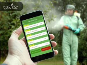 Precsion Laboratories Title Banner | Tank Mixing Algorithm Mobile App