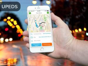 UPEDS Title Banner   Package Deliveries Mobile App