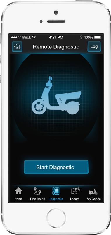 Mahindra GenZe App Screen - 3 | E-Bike Mobile App