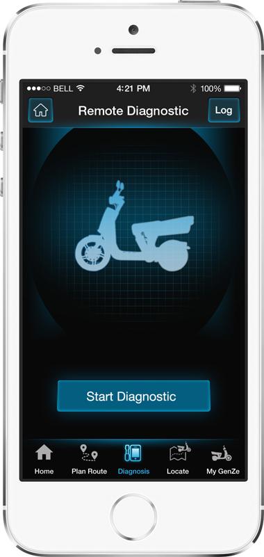 Mahindra GenZe App Screen - 3 | E-Bike Mobile App