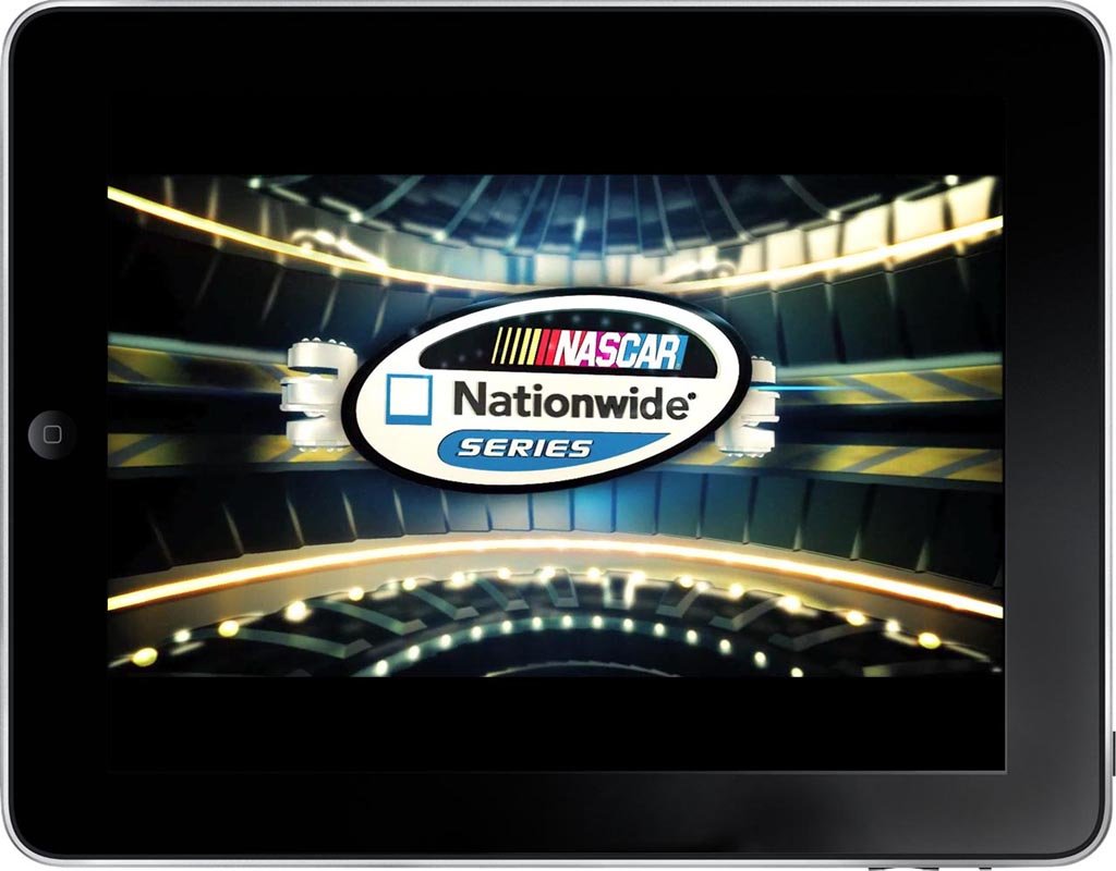 NASCAR App Screen - 3 | Presenting Customized Content From Catalog Mobile App