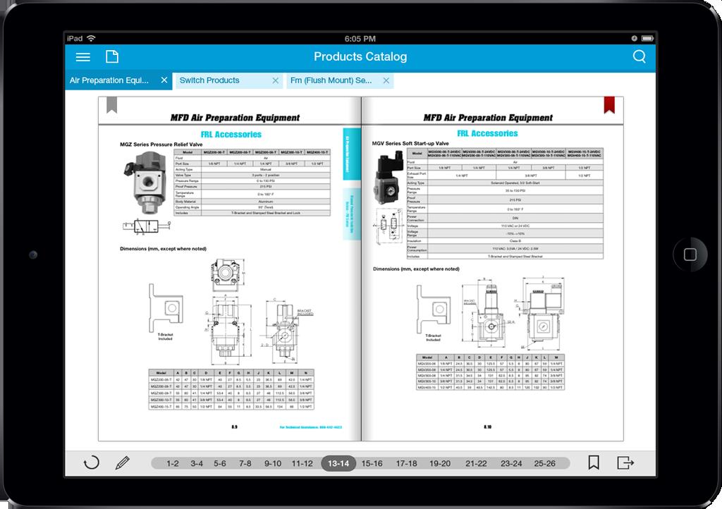Bimba App Screen - 3 | Sales Enablement Catalog Mobile App