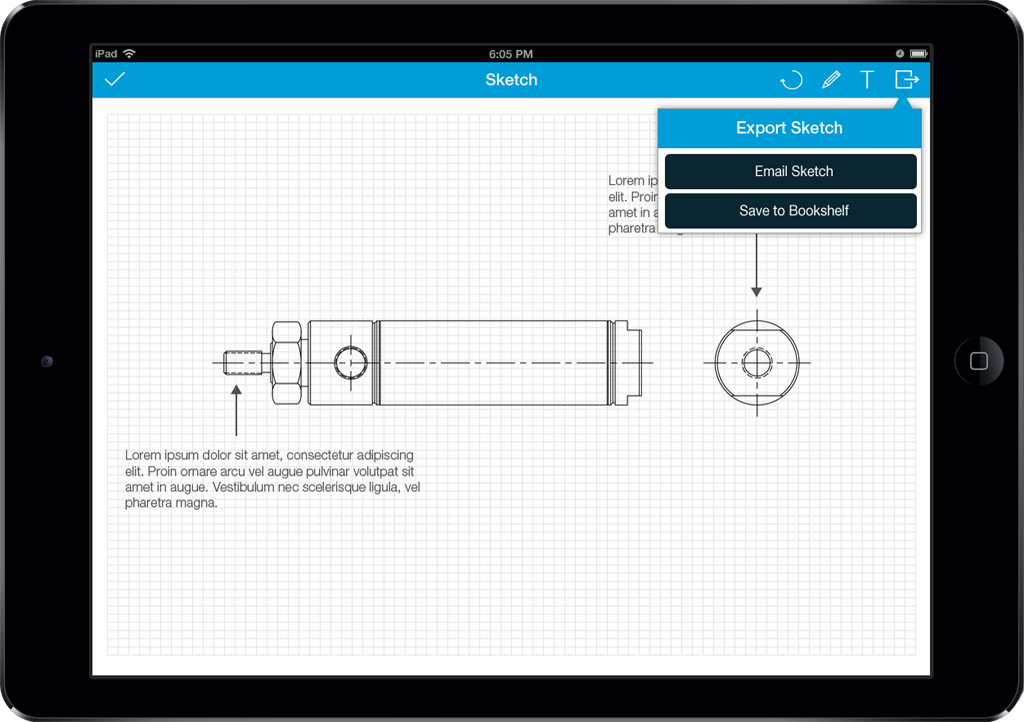 Bimba App Screen - 2 | Sales Enablement Catalog Mobile App