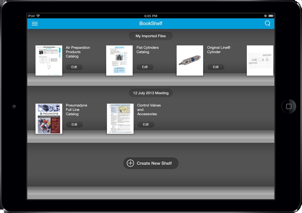 Bimba App Screen - 4 | Sales Enablement Catalog Mobile App
