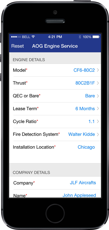 Willis Lease App Screen - 3 | Bidding & Browsing Mobile App