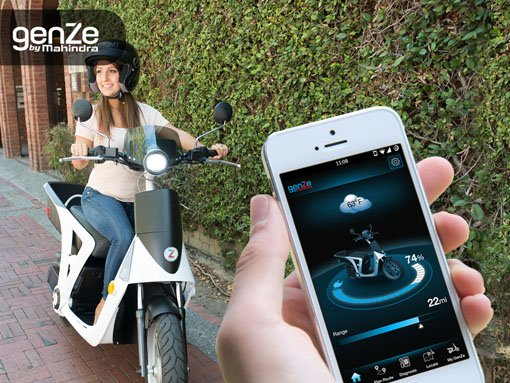 Banner | Mobile app developed by LeewayHertz for GenZe allowing enhancement of e-bike features and additional benefits