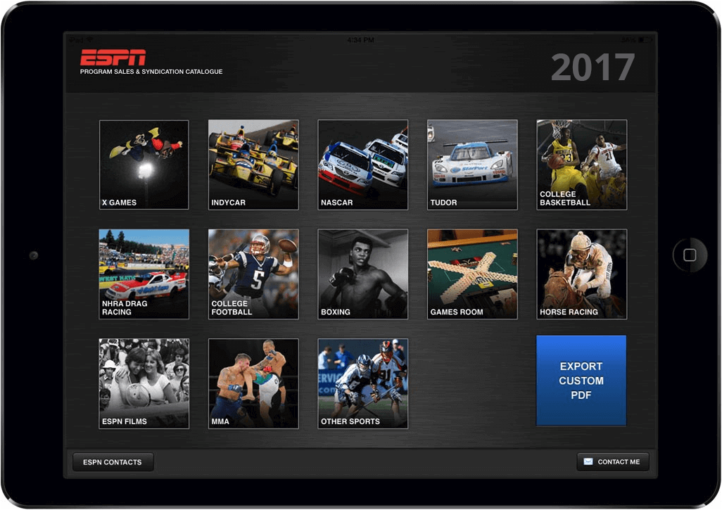 ESPN-Enabling Customized Sales Collateral Delivery | LeewayHertz