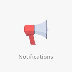 Notifications app development feature
