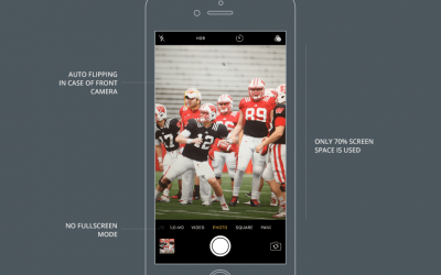 Design Apps with a Great Camera User Experience