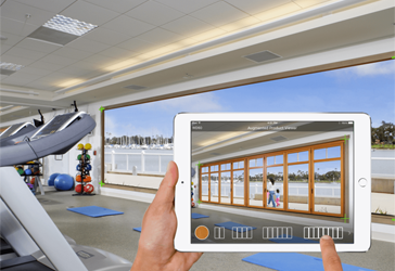 How sales team can use AR in Manufacturing industry?