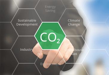 Blockchain Reducing Carbon Footprints