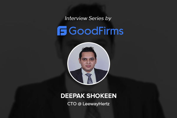 A Glimpse Of Goodfirms Interview Series With Deepak Shokeen