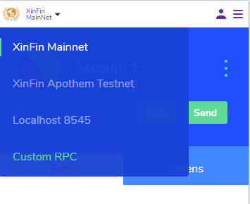 xinfin smart contracts